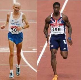 sprinter vs marathon runner